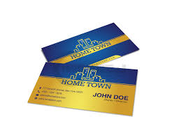 Hometown Business Card Design Design U0026 Print Services Print Graphic Design Services By