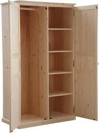armoire chambre 2 portes porte armoire bois my