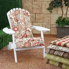 White Wicker Patio Furniture Home Decoration Enticing Red Yellow Floral Cushion For White