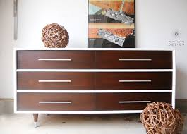 Painted Mid Century Furniture by Martha Leone Design