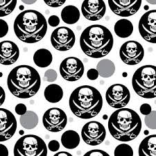 skull wrapping paper pirate skull crossed swords jolly roger premium gift wrap wrapping