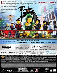 amazon com lego ninjago movie the 2017 uhd bd blu ray dan