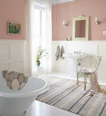shabby chic bathroom furniture pretty shabby chic bathroom with wainscoting and pink walls