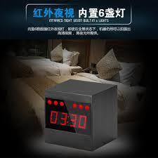 Bling Alarm Clock New Stylish A10 Hd Desk Clock Hidden Camera Night Vision Spy