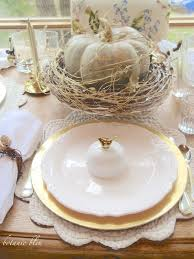 thanksgiving decorations sale botanic bleu thanksgiving gold and white table