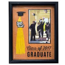 graduation frames with tassel holder of 2017 cork graduation photo frame tassel holder
