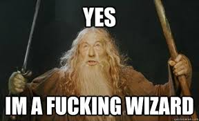 Wizard Memes - yes i m a fucking wizard memes