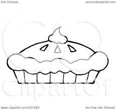 coloring pages pumpkin pie royalty free rf clipart illustration of a coloring page outline of