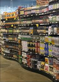 Liquor Store Shelving by Retail Liquor Gondola With A Twist U2013 Fixtures Close Up
