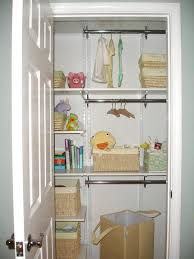 Hanging Closet Shelves by Hanging Closet Organizer For Baby Roselawnlutheran