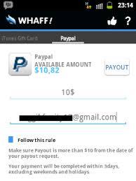 buat akun paypal whaff cara daftar whaff rewards aplikasi reward terpercaya pengetahuan