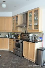 kitchen refrigerator cabinets kitchen maple kitchen refrigerator wooden countertop oven white