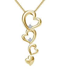 new design buy vorra fashion new design pendant with 18 chain in 14k