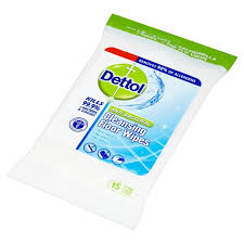 dettol anti bacterial cleansing floor wipes 15 per pack from ocado