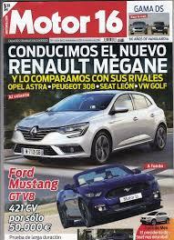 revista motor 2016 revista motor 16 nº 1664 año 2016 prueba ford comprar revistas