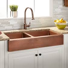 kitchen sinks fabulous hammered copper undermount kitchen sink