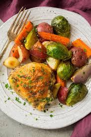 How Long To Roast Root Vegetables In Oven - sheet pan roasted chicken with root vegetables cooking classy