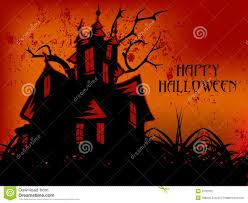 happy halloween dark castle stock photo image 6732700