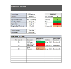 weekly report template ppt free weekly report template 12 excel powerpoint word