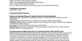 Cisco Network Engineer Resume Sample by Cyber Security Engineer Resume Network Security Engineer Resume