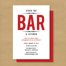 stock the bar invitations invitation wording no wrapping paper invitation ideas