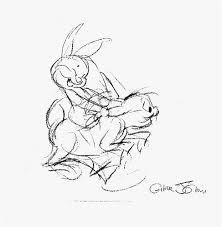 chuck jones concept art bugs bunny u0026 baby bunny artinsights