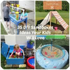 Backyard Sandbox Ideas 35 Diy Sandboxes Ideas Your Will