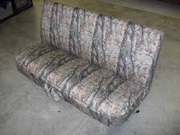 Camo Bench Seat Covers For Trucks Headwaters Seat Covers