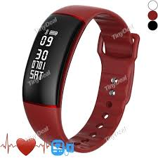 oled bracelet images 28 07 a69 smart bracelet oled ip67 heart rate monitor blood jpg