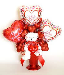 valentines day balloon delivery rosielloons balloon weights by rosielloons