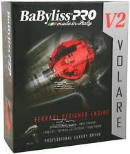 babyliss pro volare hair dryer babyliss pro volare hair dryers ebay
