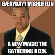 Magic Card Meme - minnesota magic card game leads to stabbing beating with mallet