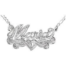 3d Nameplate Necklace Fingerhut Necklaces U0026 Pendants