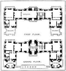 chateau floor plans sensational 11 historic chateau house plans detailed floor plans