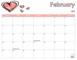 printable calendars free 2018 free printable calendar for kids imom