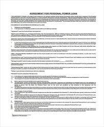 doc 12751650 free personal loan agreement form u2013 download