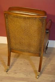 Leather Arm Chairs Pair French Regency Bergere Chairs Leather Arm Chair Walnut Ebay