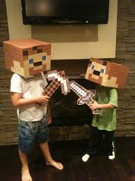 steve from minecraft halloween costume diy pinterest