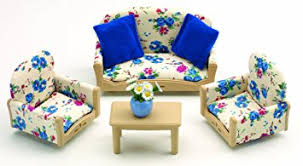 Sylvanian Families Sofa  Armchairs Set Sylvanian Families - Sylvanian families living room set