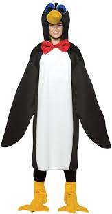 Quick Halloween Costumes For Teens Penguin Teen Costume Buycostumes Com