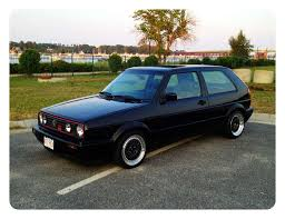 vwvortex com 88 vw mk2 gti 16v black just refinished