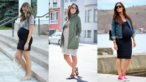 18 pregnancy ideas for a casual but cute maternity style