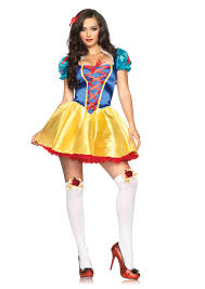 leg avenue 2 piece fairytale snow white costume