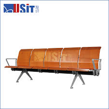 Waiting Area Bench Uw 529m 4 Seater Waiting Area Bench For Airport With Armrest Buy