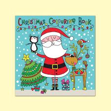 christmas colouring book colour fun notonthehighstreet