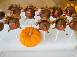 thanksgiving treat turkey cake pops pretty sweat