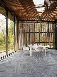 near u0026 far is the latest carpet tile collection from interface