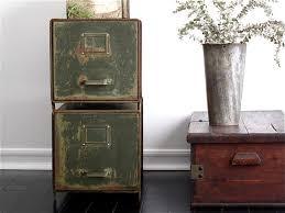 vintage metal file cabinets industrial office vintage