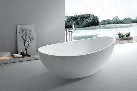 Modern Bathroom Tub Roma Solid Surface Modern Bathtub 65