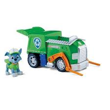 buy paw patrol recycling truck rocky animal playsets
